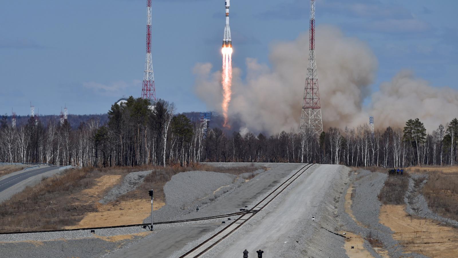 Rusové vyslali do vesmíru raketu z nového kosmodromu Vostočnyj
