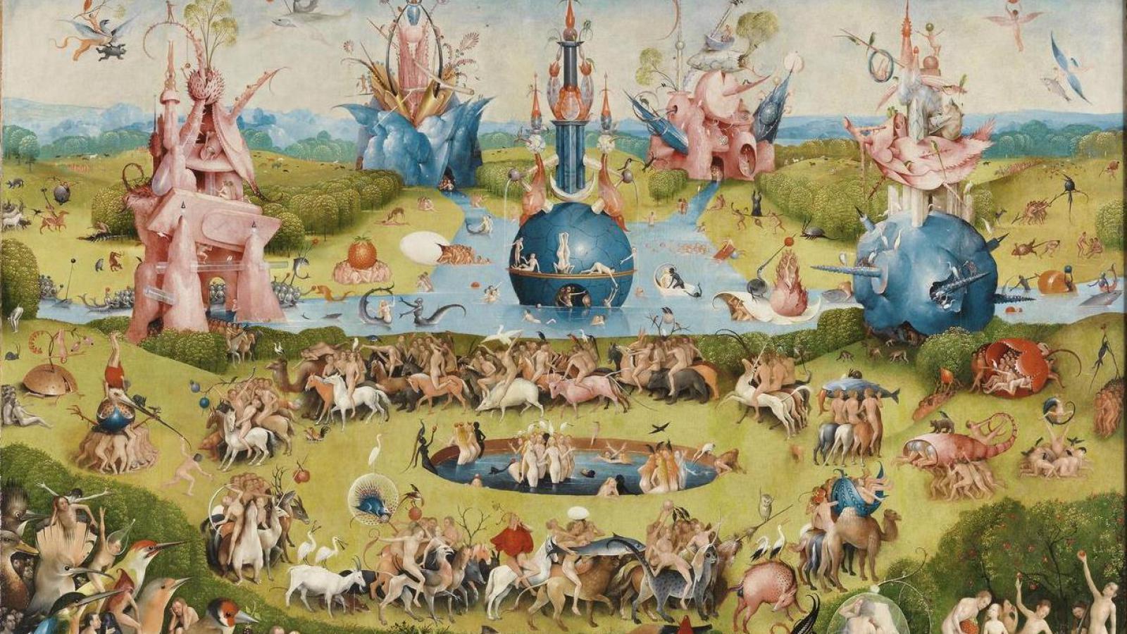 Zahrada pozemských rozkoší (výřez)