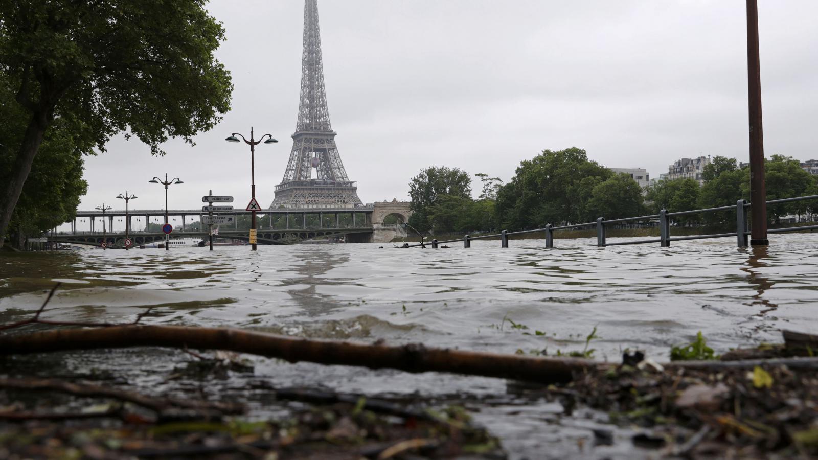 Povodně v Paříži