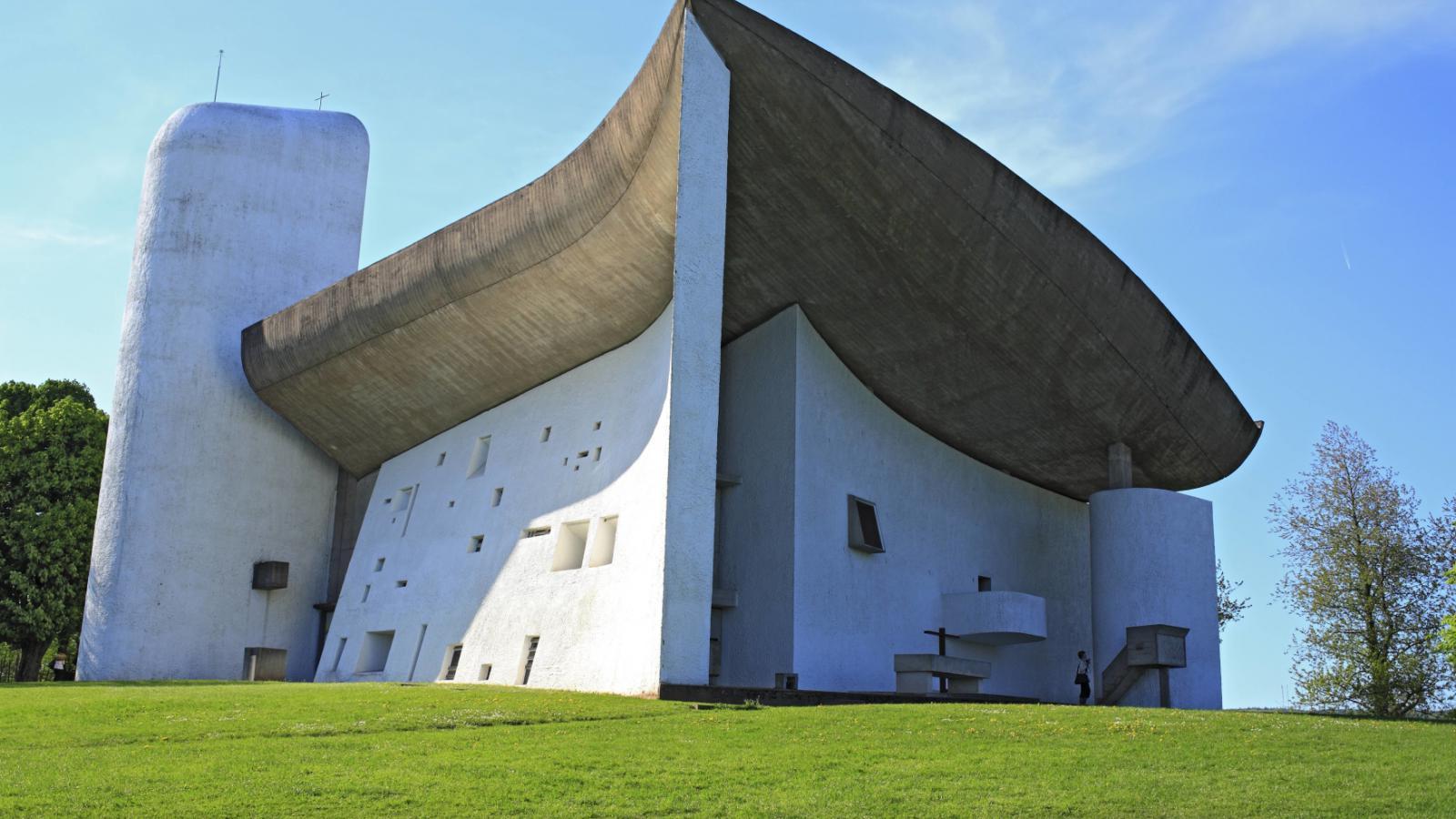 Kaple Notre Dame du Haut v obci Ronchamp