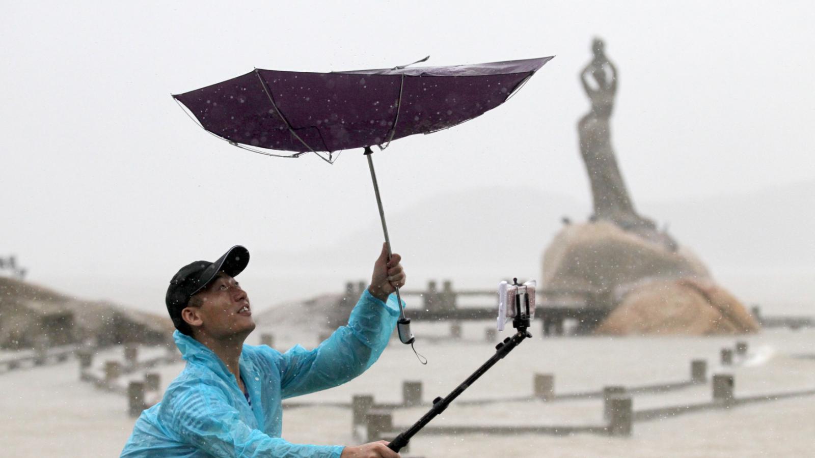 Tajfun Nida dorazil do Číny