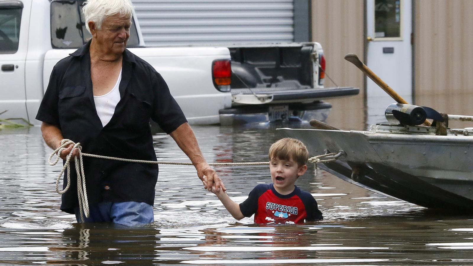 Záplavy v Louisianě