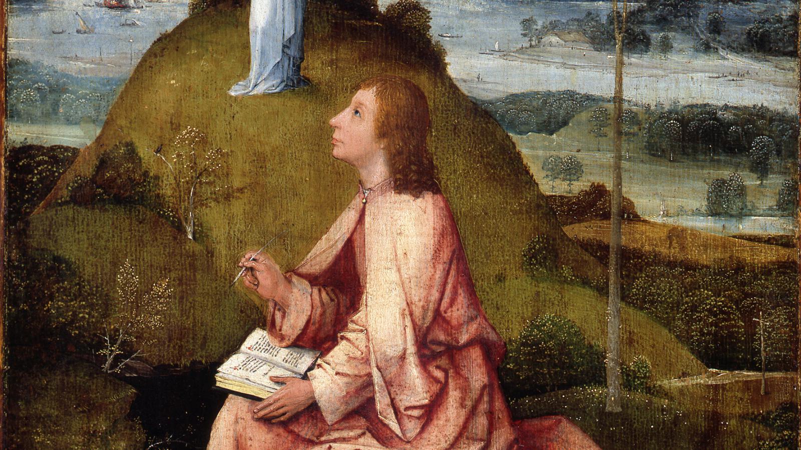 Hieronymus Bosch / Jan z Patmu, kolem r. 1500