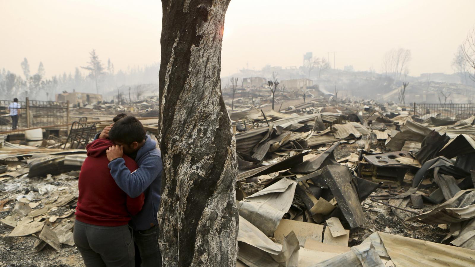 Požáry v Chile