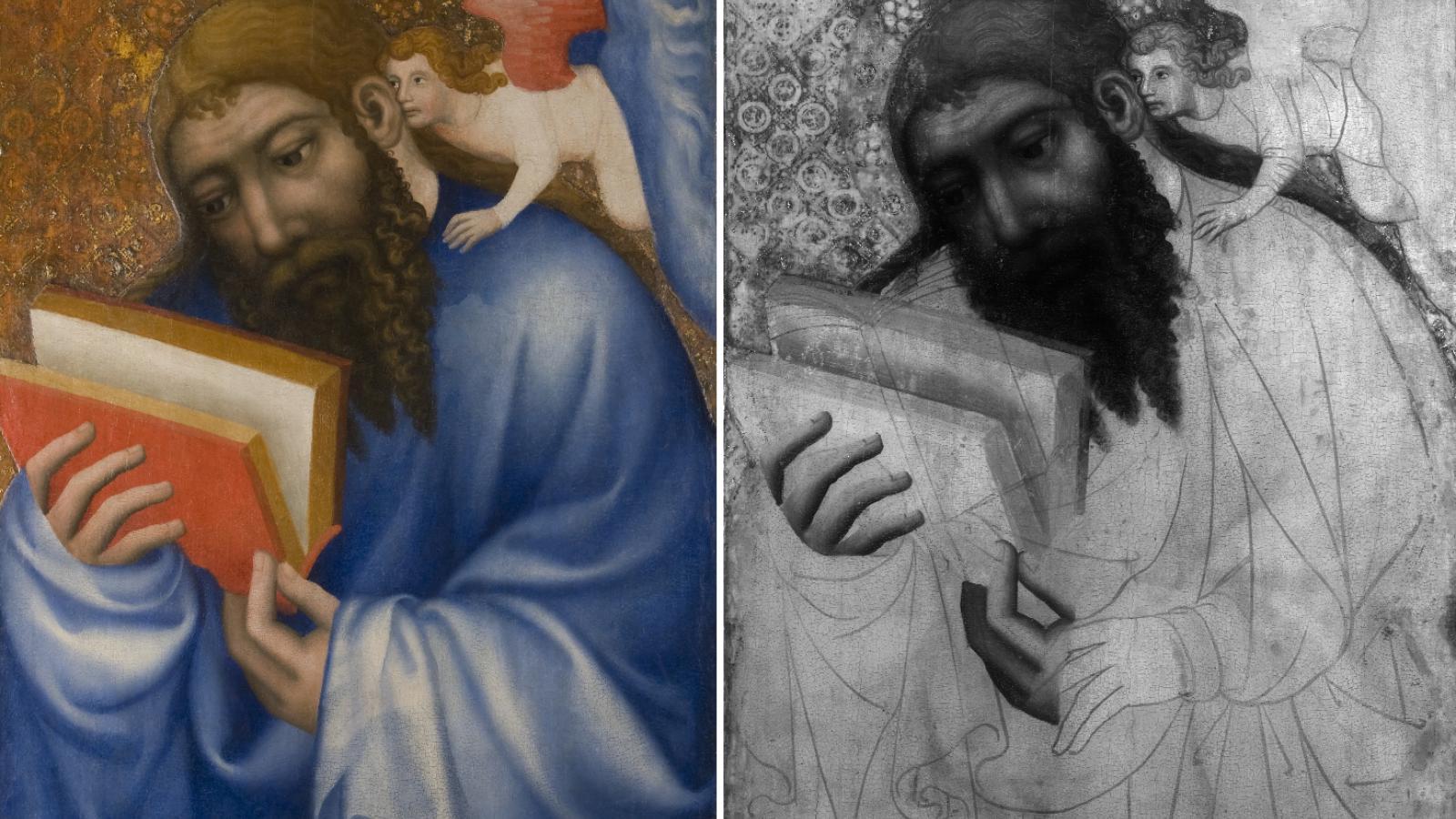 Mistr Theodorik / Sv. Matouš Evangelista