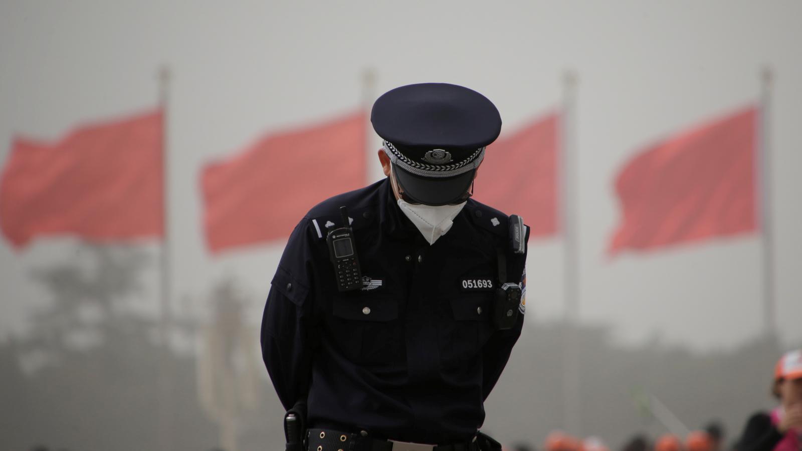Peking zasáhla písečná bouře