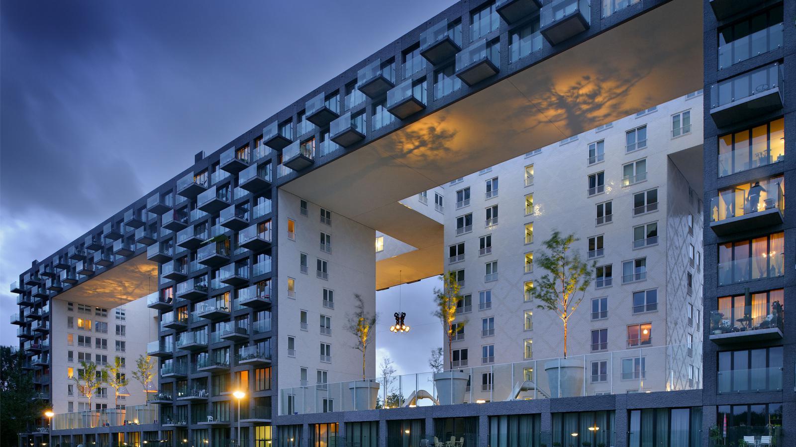 Budova Parkrand v Amsterdamu