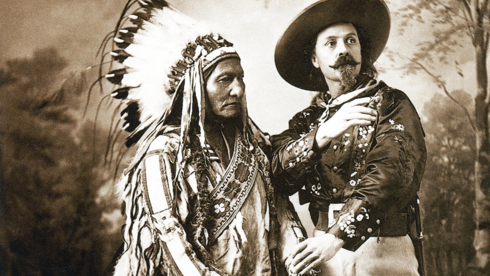 Sedící býk a William Cody
