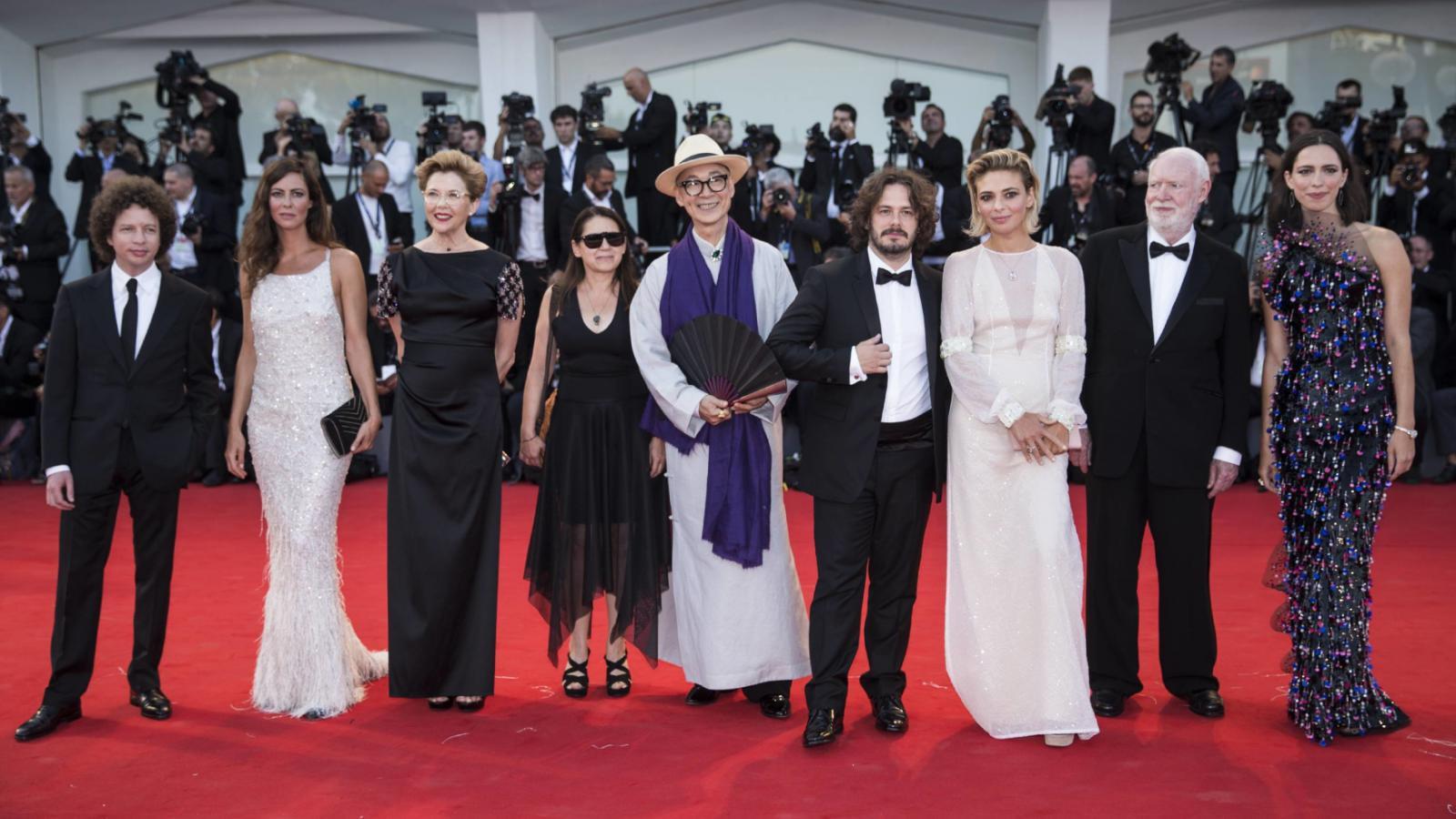 Porota hlavní soutěže 74. festivalu v Benátkách
