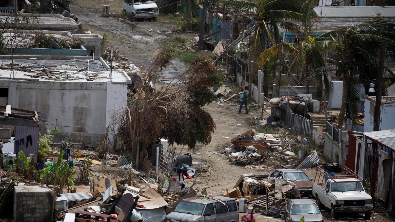 Zdevastované Portoriko