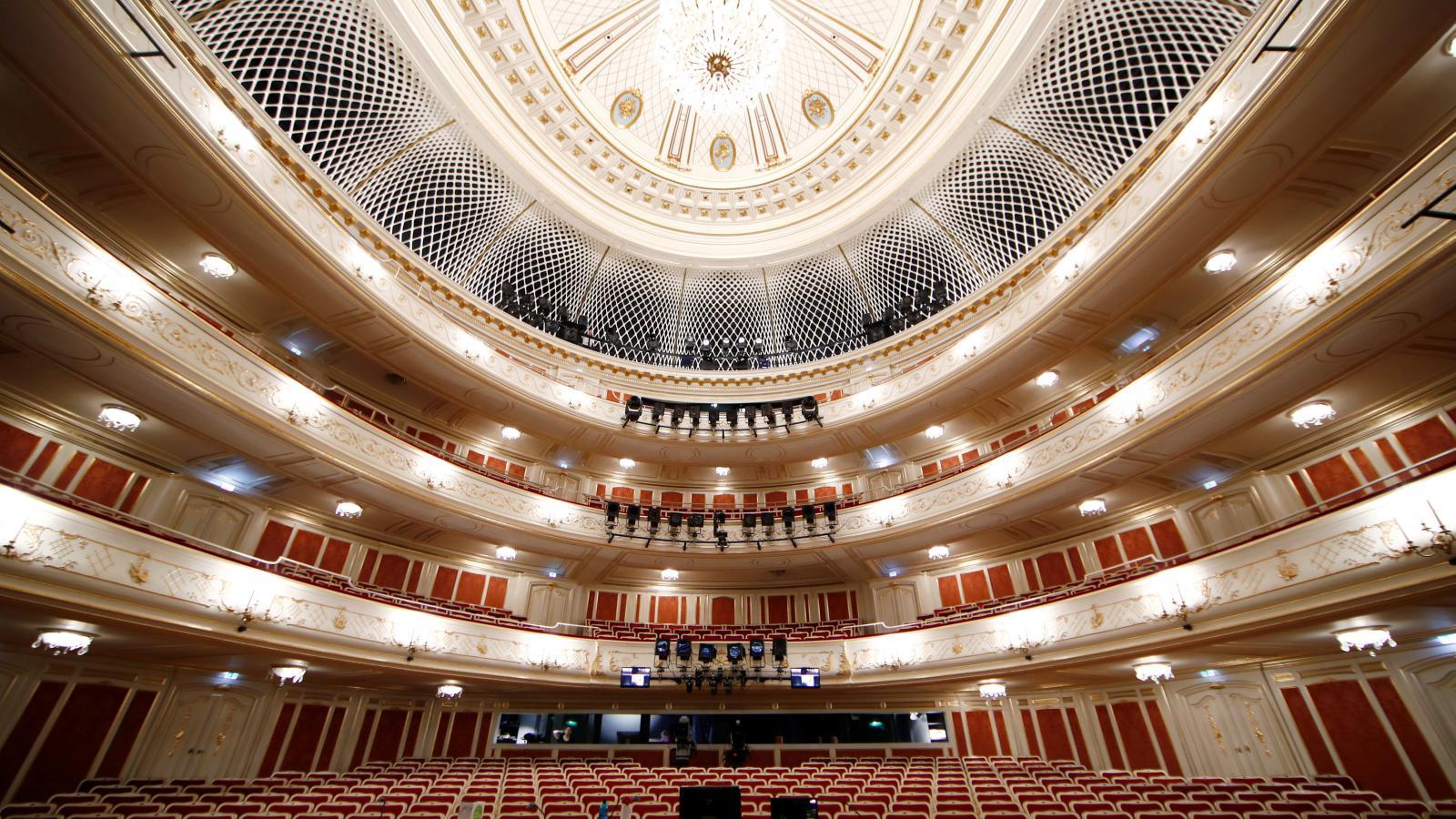 Staatsoper Unter den Linden po rekonstrukci