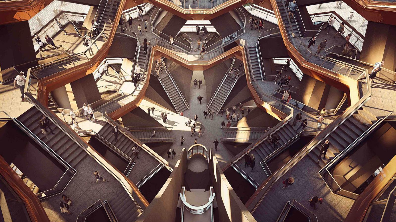 Model věže Vessel