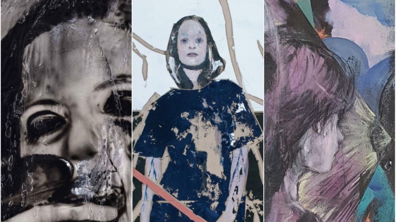 Z výstavy: Josef Bolf, Martin Gerboc, Alexander Tine: Skin/Kůže (DSC Gallery)