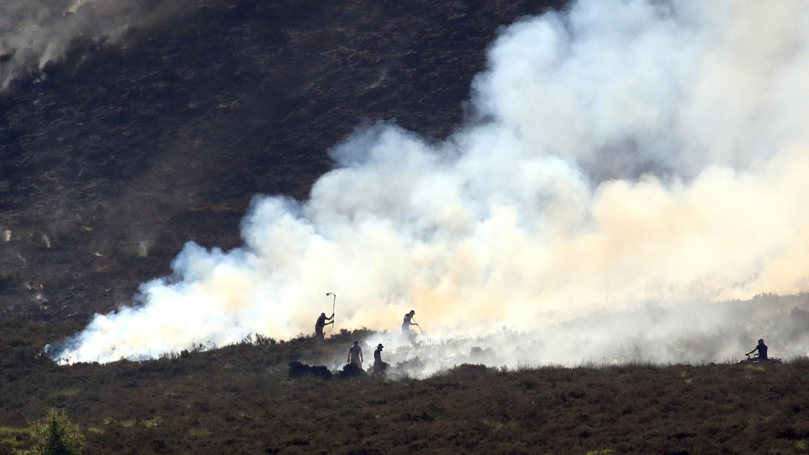 Požár rašeliniště