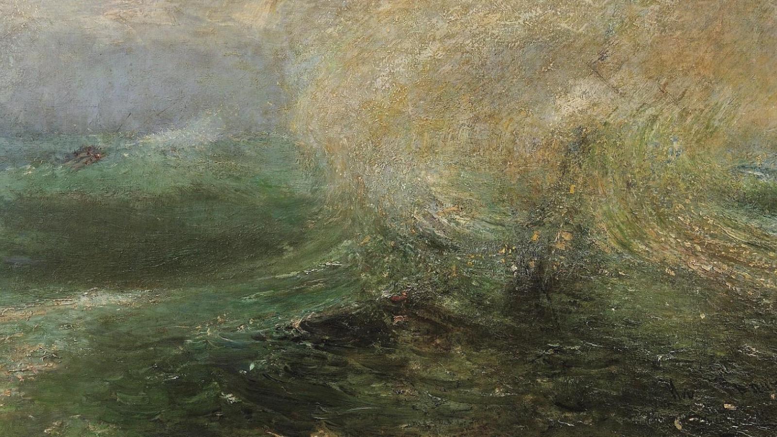 Ilja Jefimovič Repin / Bouře, kolem 1905