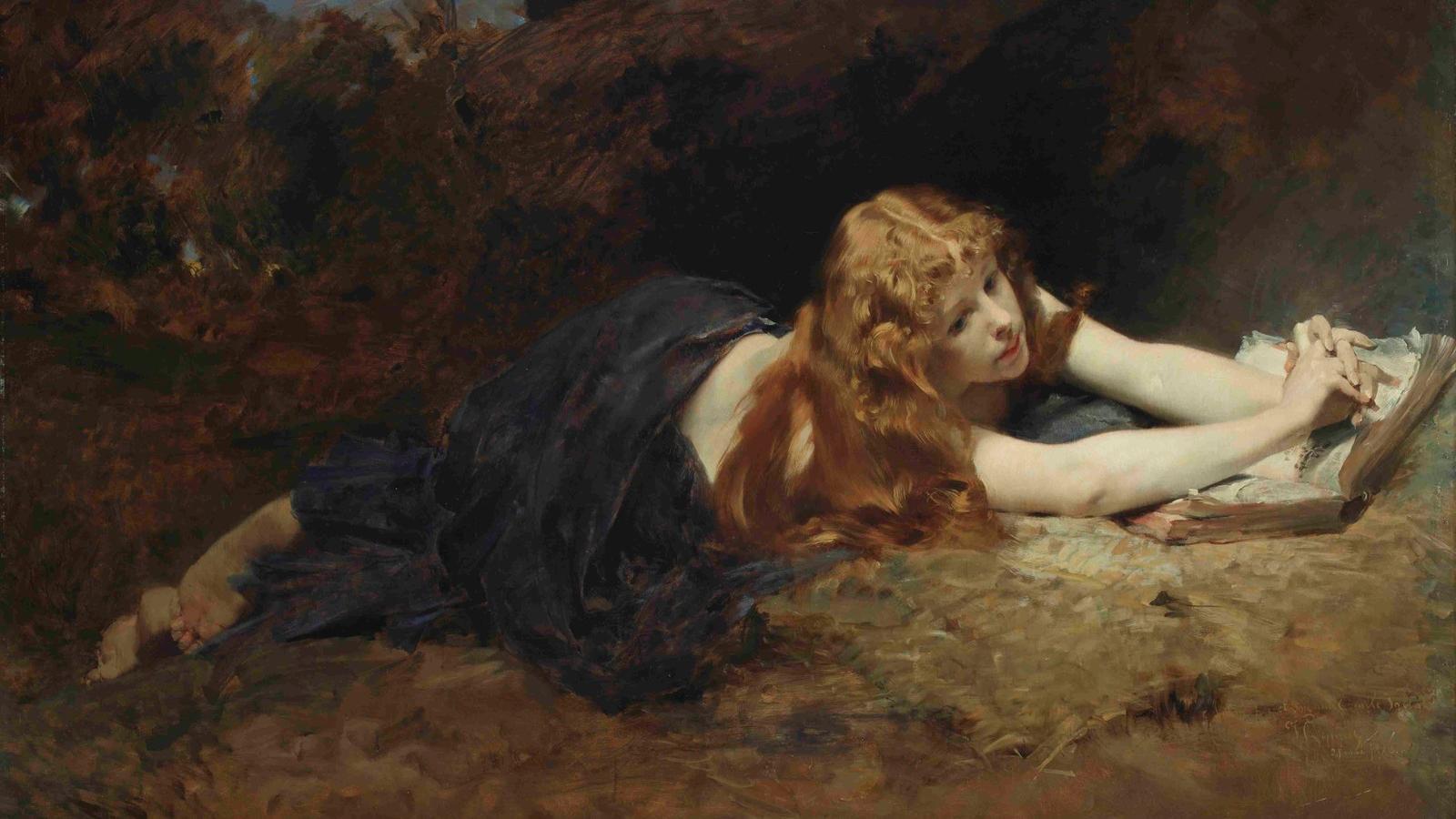 Vojtěch Hynais / Máří Magdalena, 1886