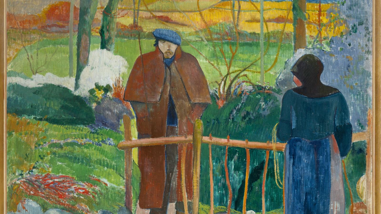 Paul Gauguin / Bonjour, Monsieur Gauguin (1889)