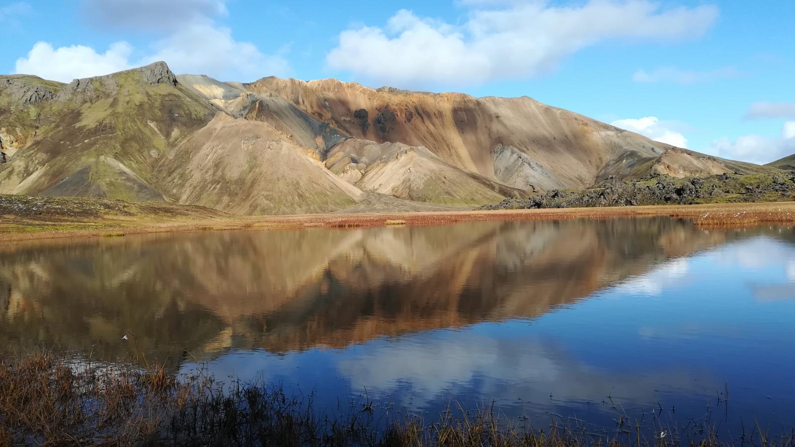 Duhové hory na Islandu