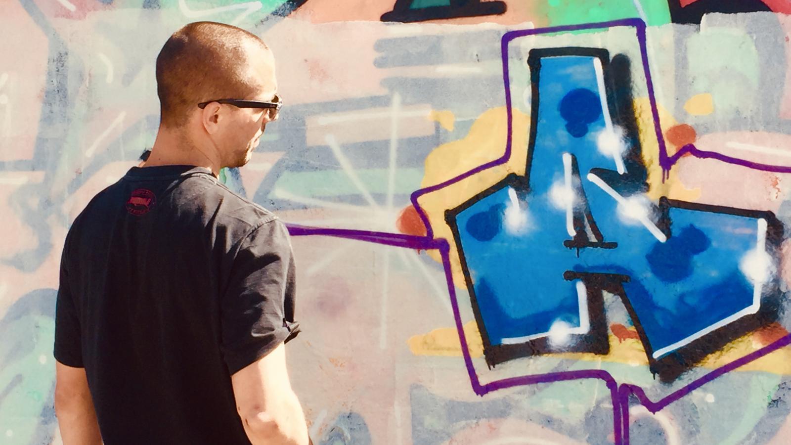 Graffiti v Berlíně