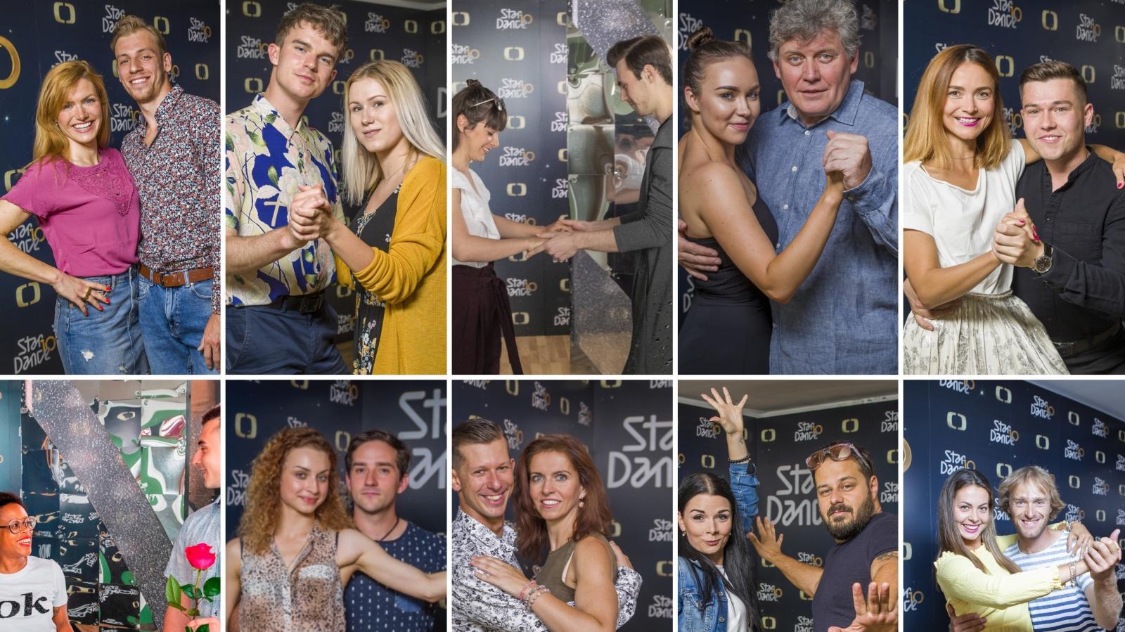Soutěžící StarDance 2019