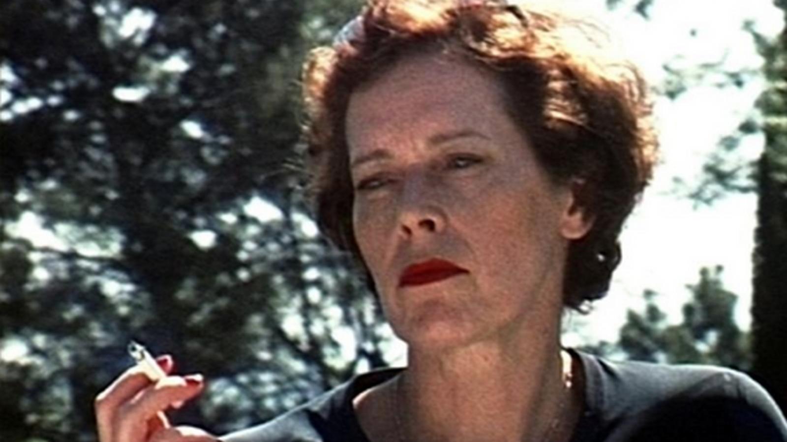 Manon de Boer / Sylvia, 1. a 2. března 2001, Hollywood Hills, super-8 zvětšený na 16mm film, 2002