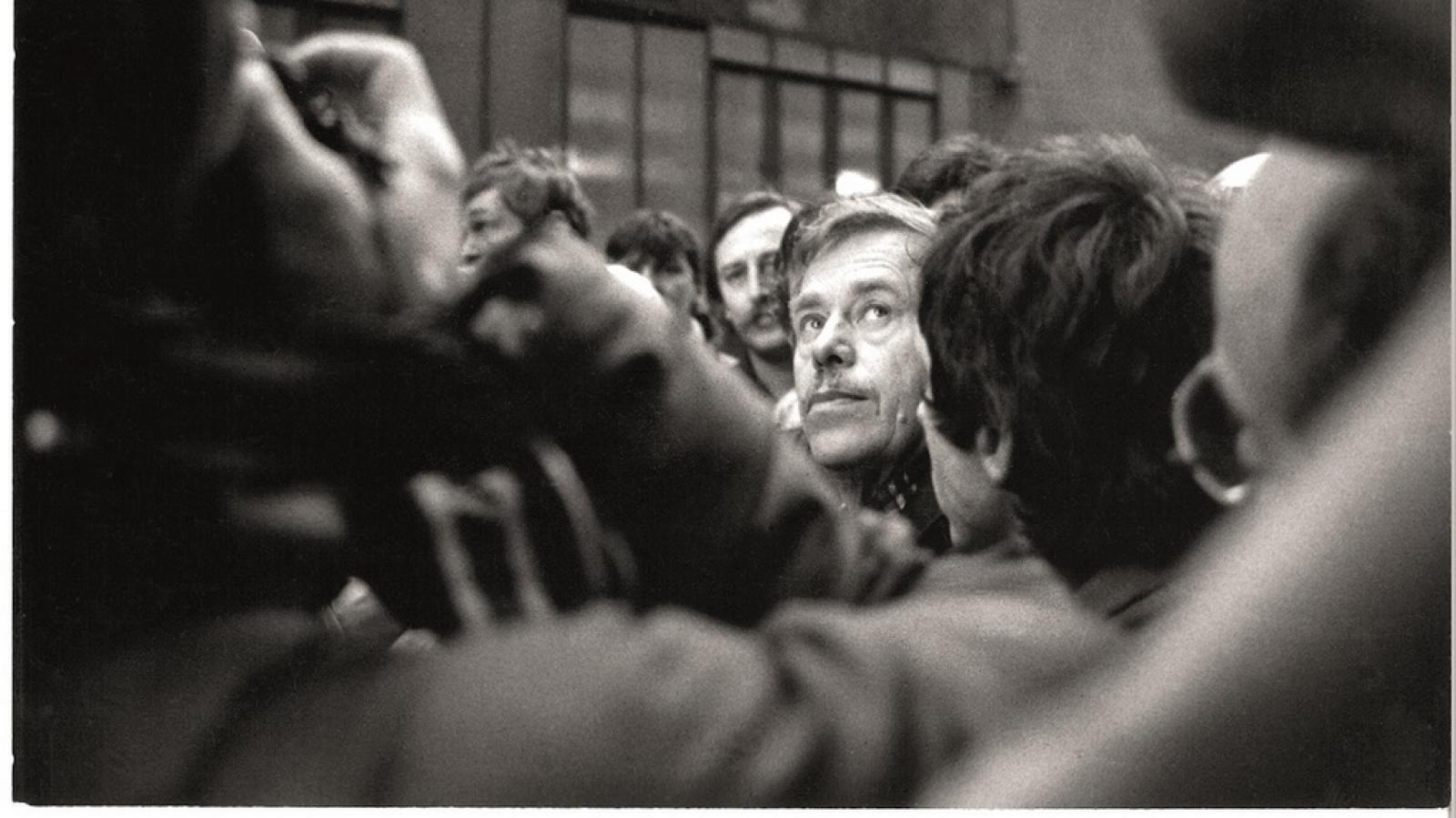 Fotografie Václava Hůrky z publikace Byli jsme při tom