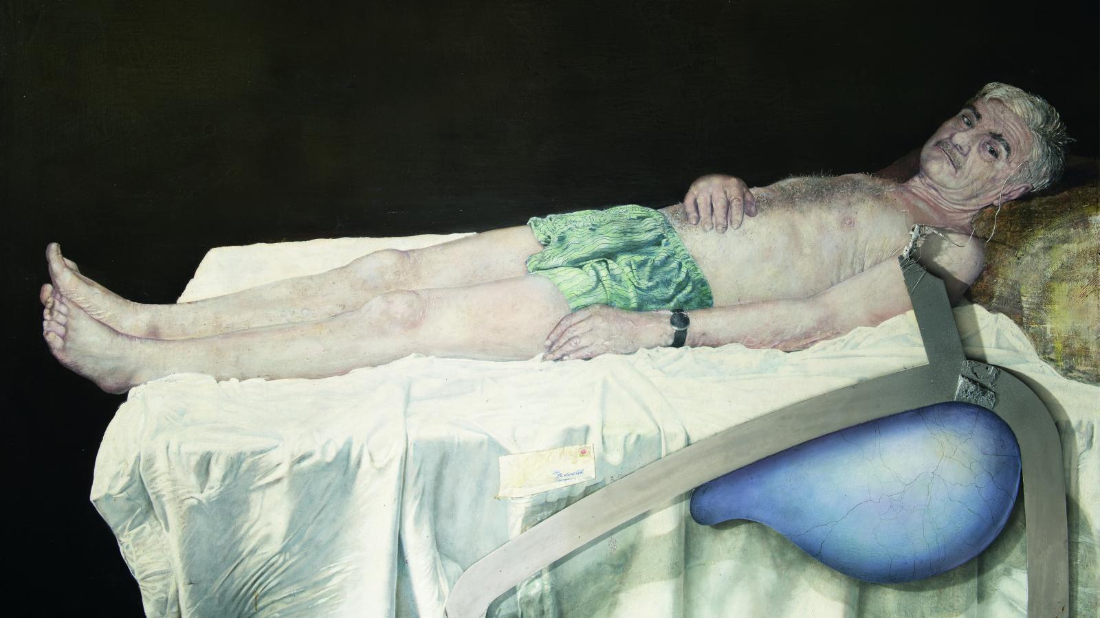 Bedřich Dlouhý / Autoportrét III, 2008