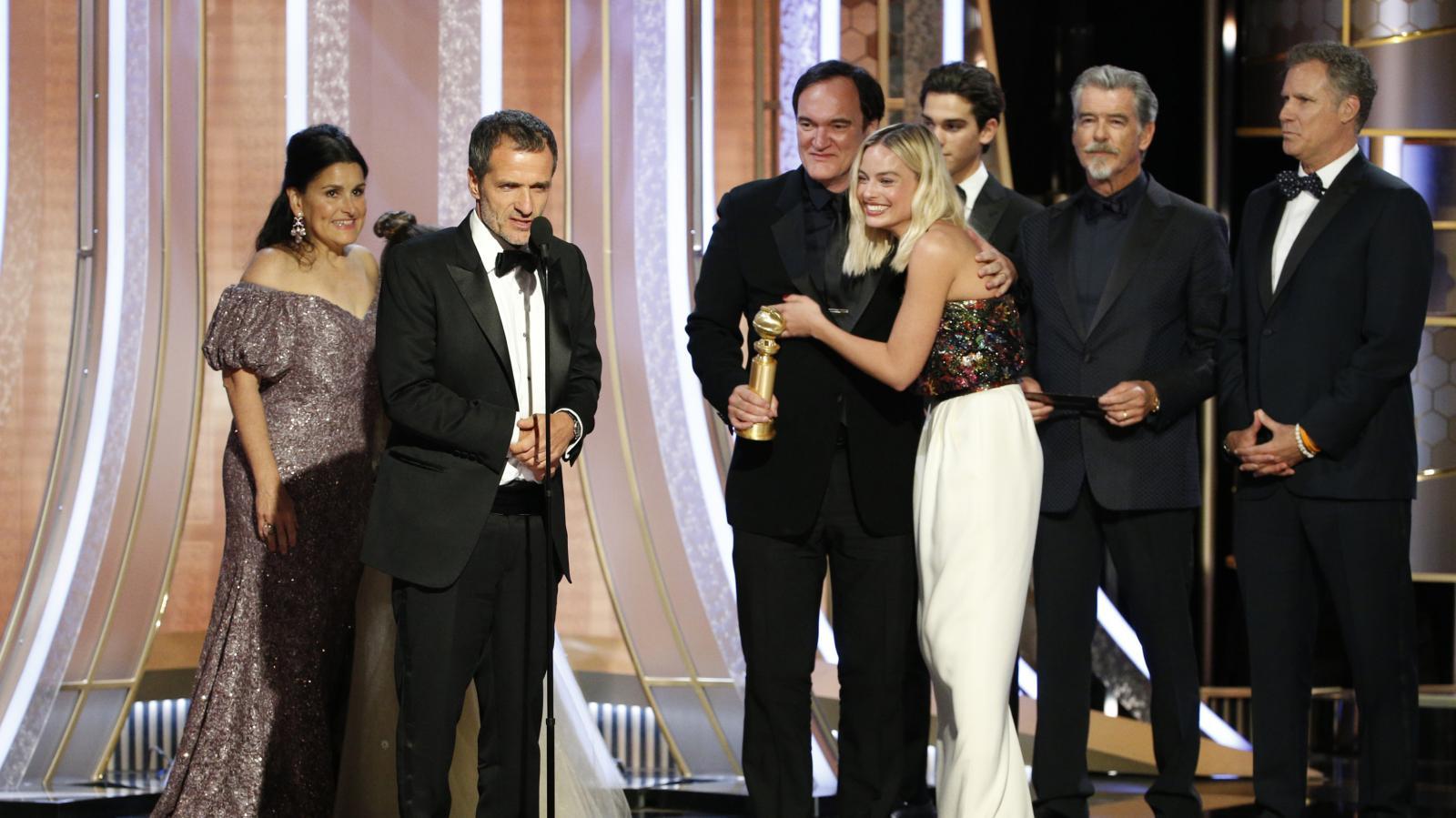 77. Zlaté glóby: delegace k filmu Tenkrát v Hollywoodu