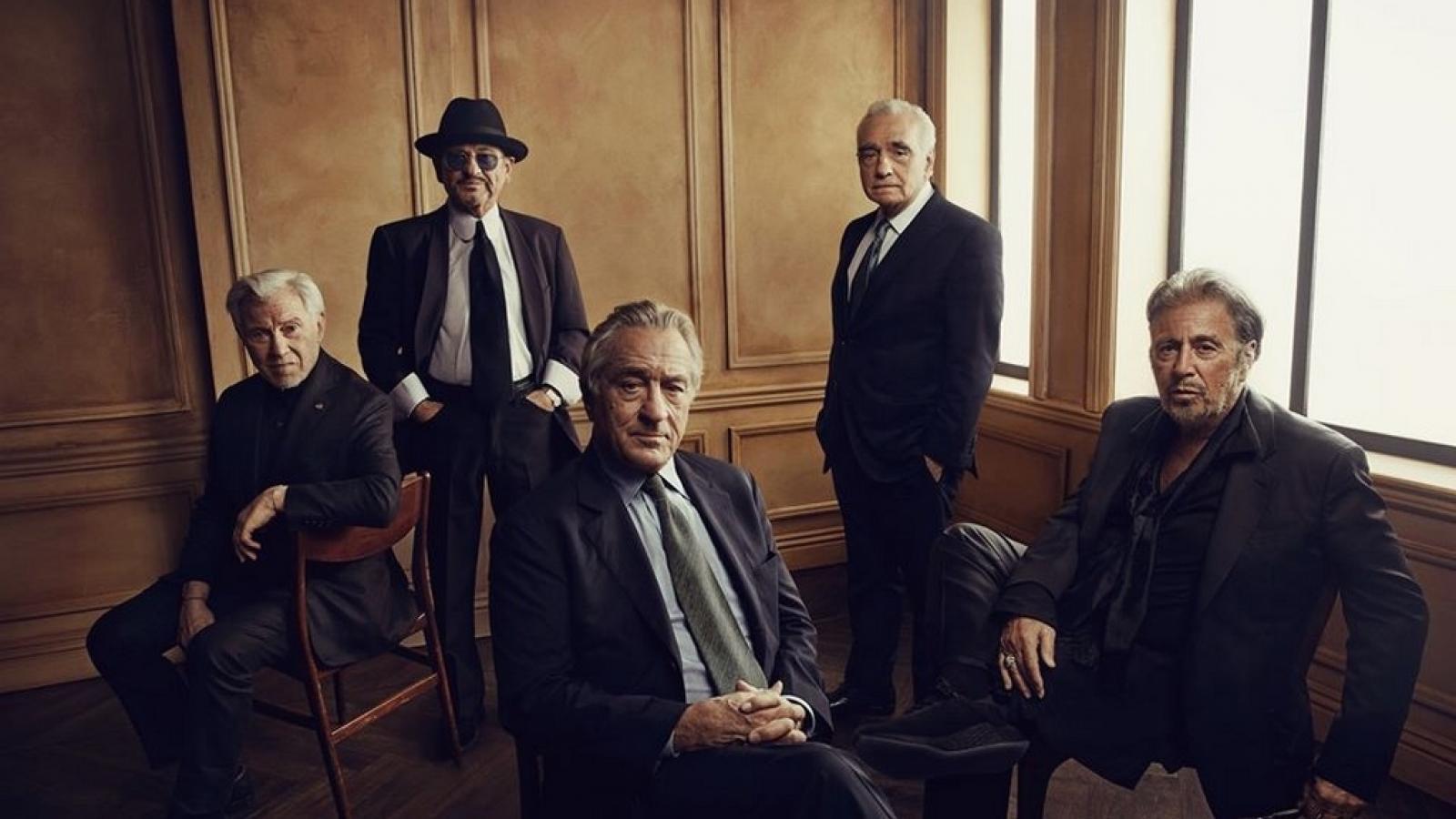 Martin Scorsese a herci z filmu Irčan