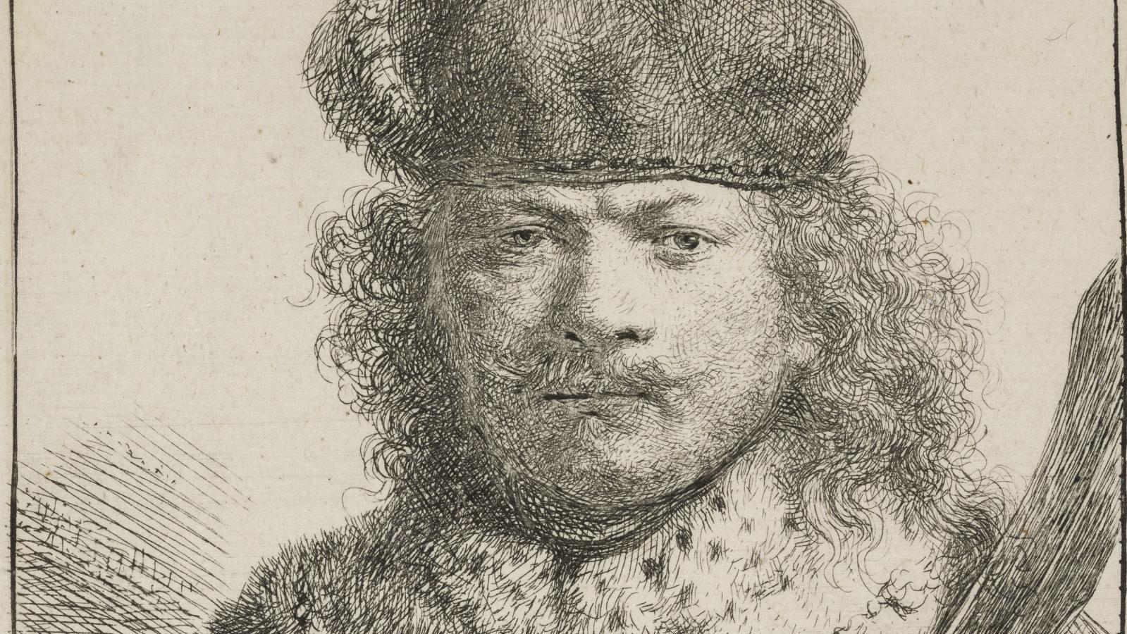 Rembrandt / Autoportrét, 1634