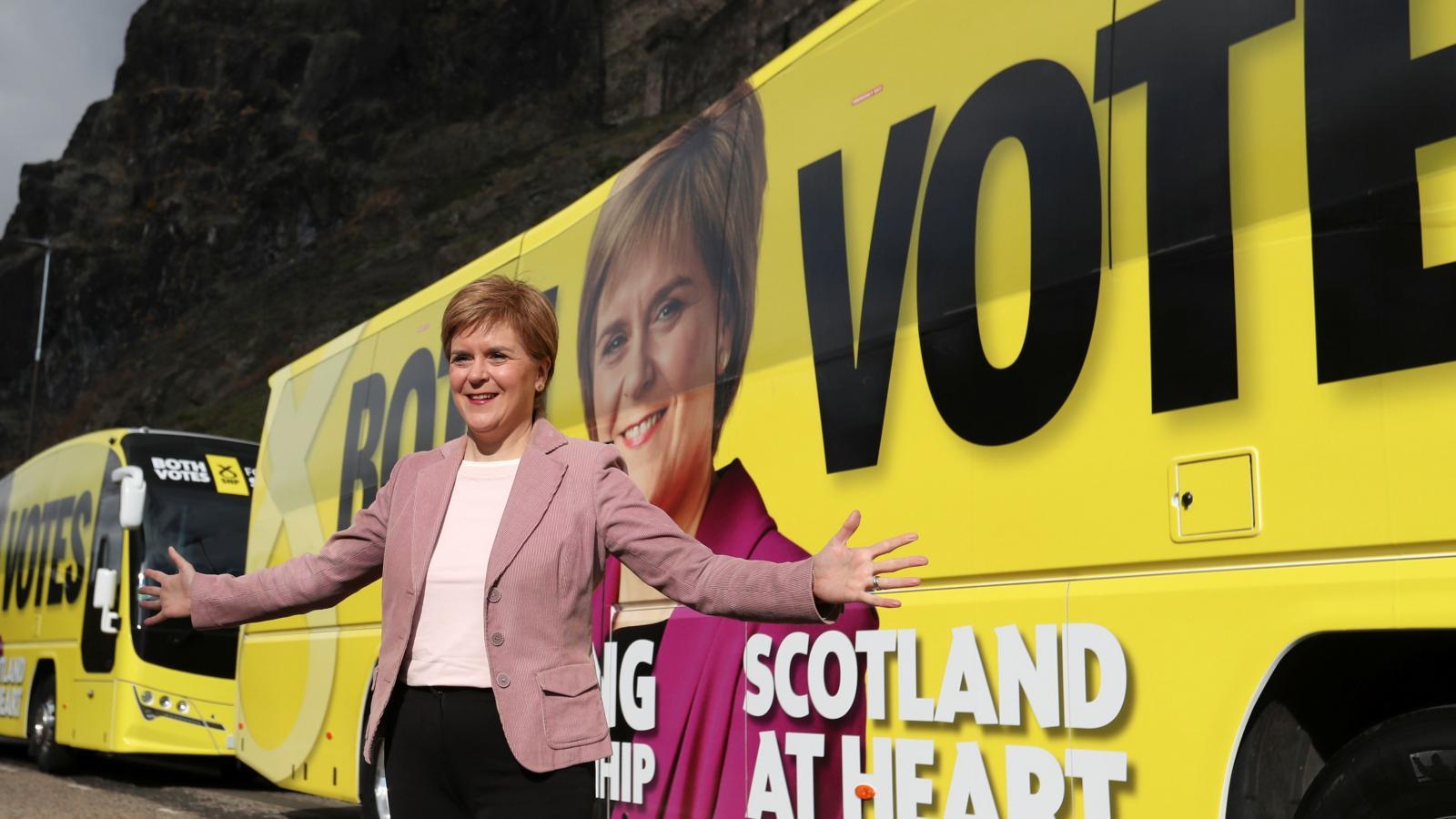 Lídryně SNP Nicola Sturgeon