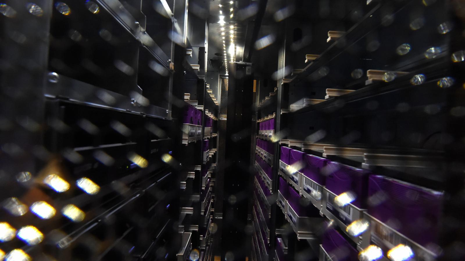 Superpočítačové centrum v Ostravě - datový sál