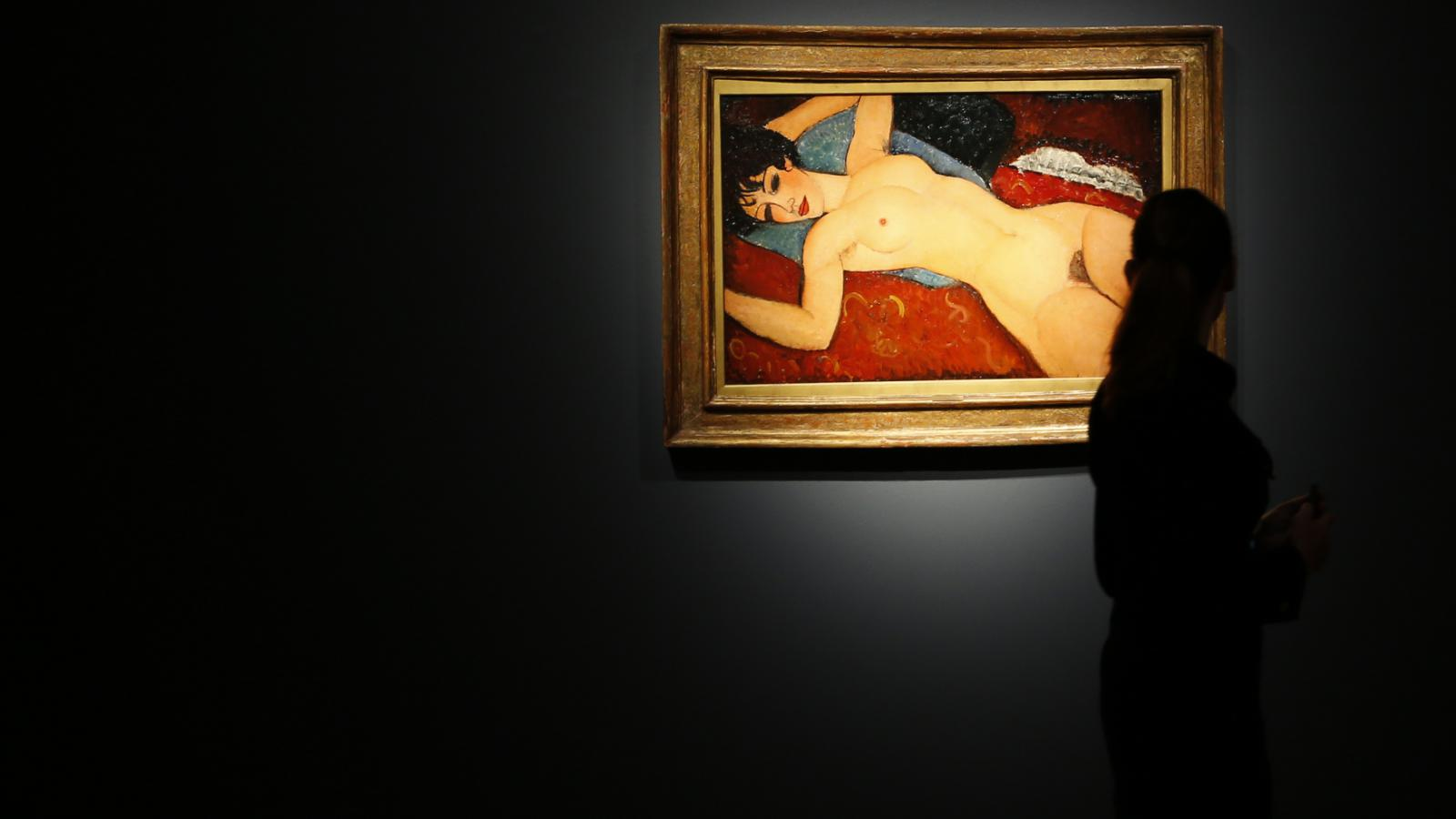 Obraz Amadea Modiglianiho Nu couché