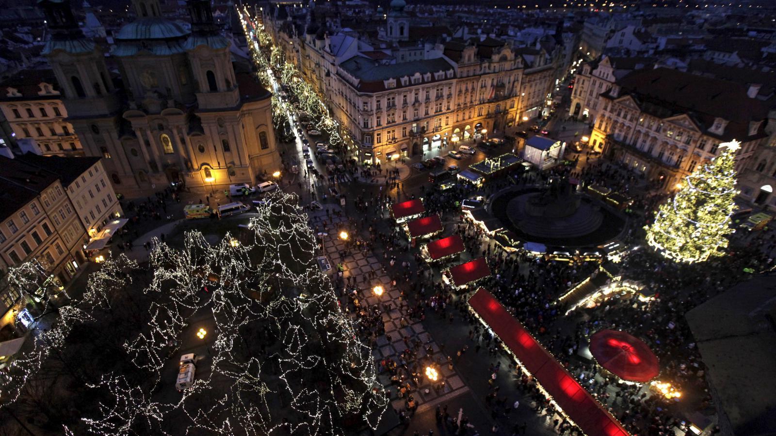 Adventní trhy na Staroměstském náměstí