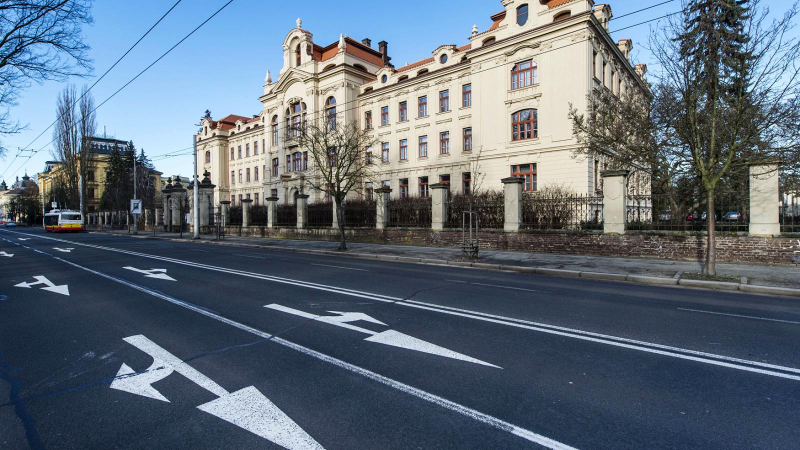 Nově opravené hradecké Rudolfinum