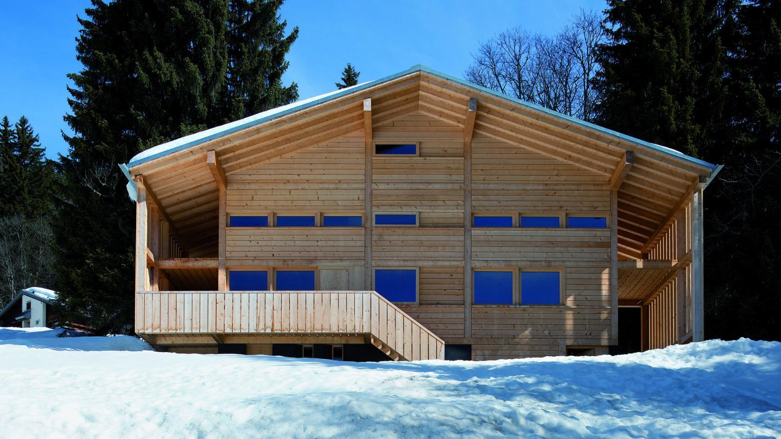 Architektura švýcarských Alp