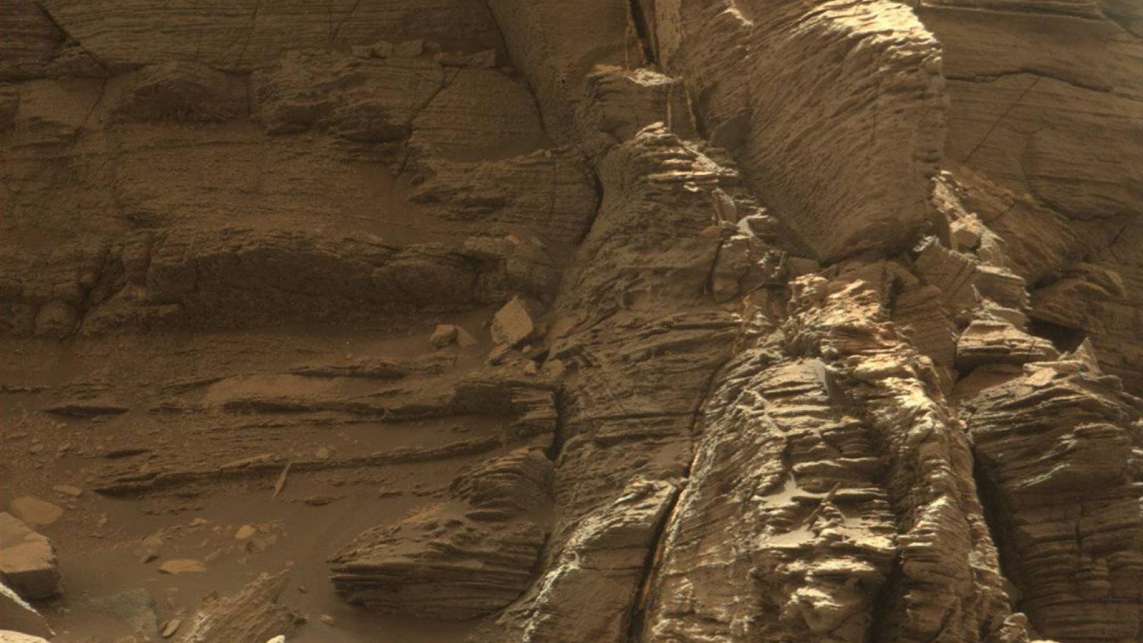 Murray Buttes na Marsu