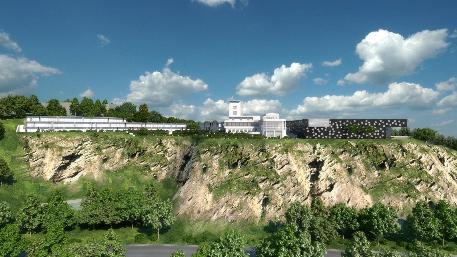 Vizualizace Barrandovských teras