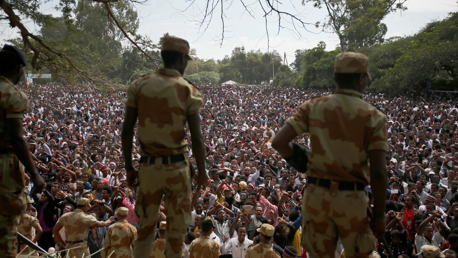 Nepokoje v Etiopii