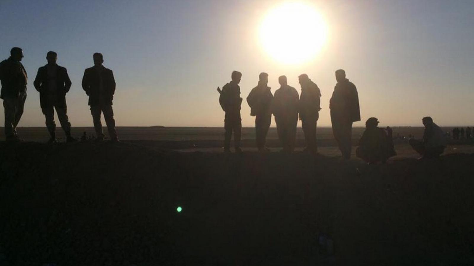 Bitva o Mosul pohledem zpravodaje ČT Jakuba Szántó