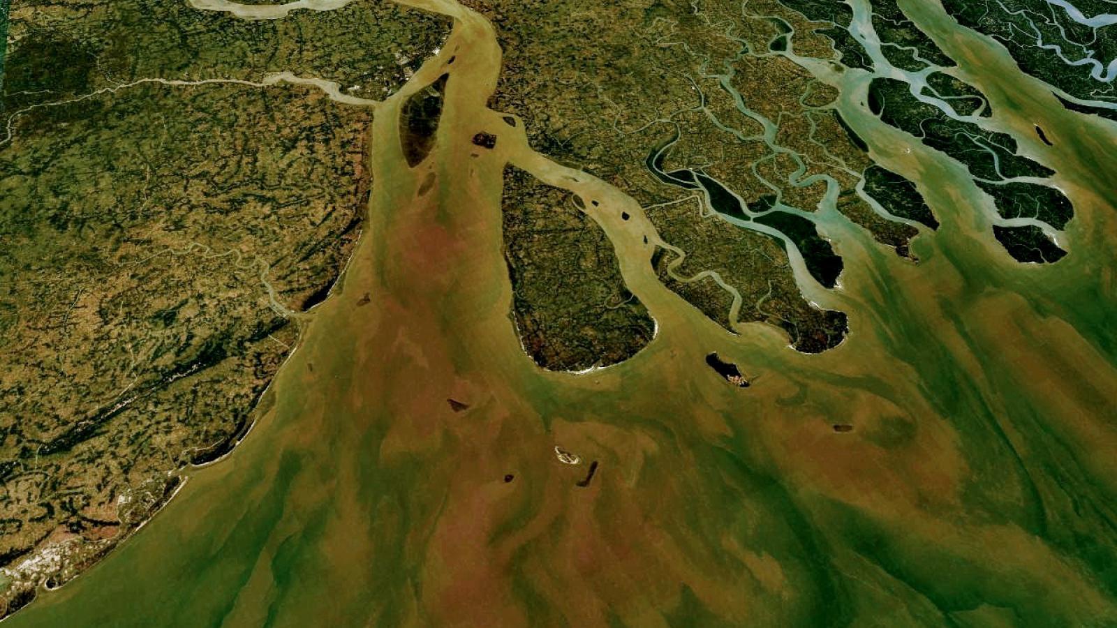 Ganga - největší řeka Indie