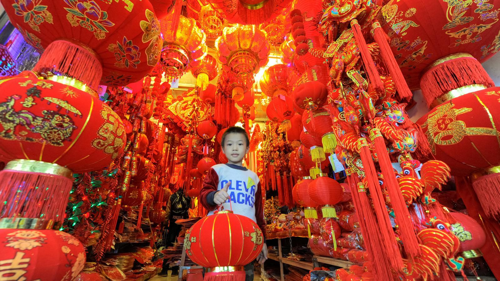 Čínské svátky Nového roku