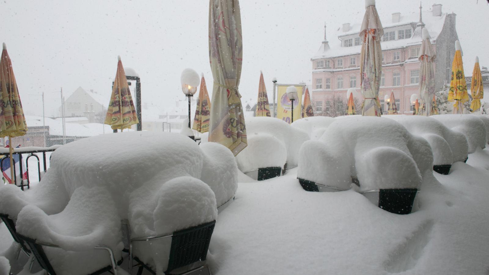 Aprílové počasí v Evropě