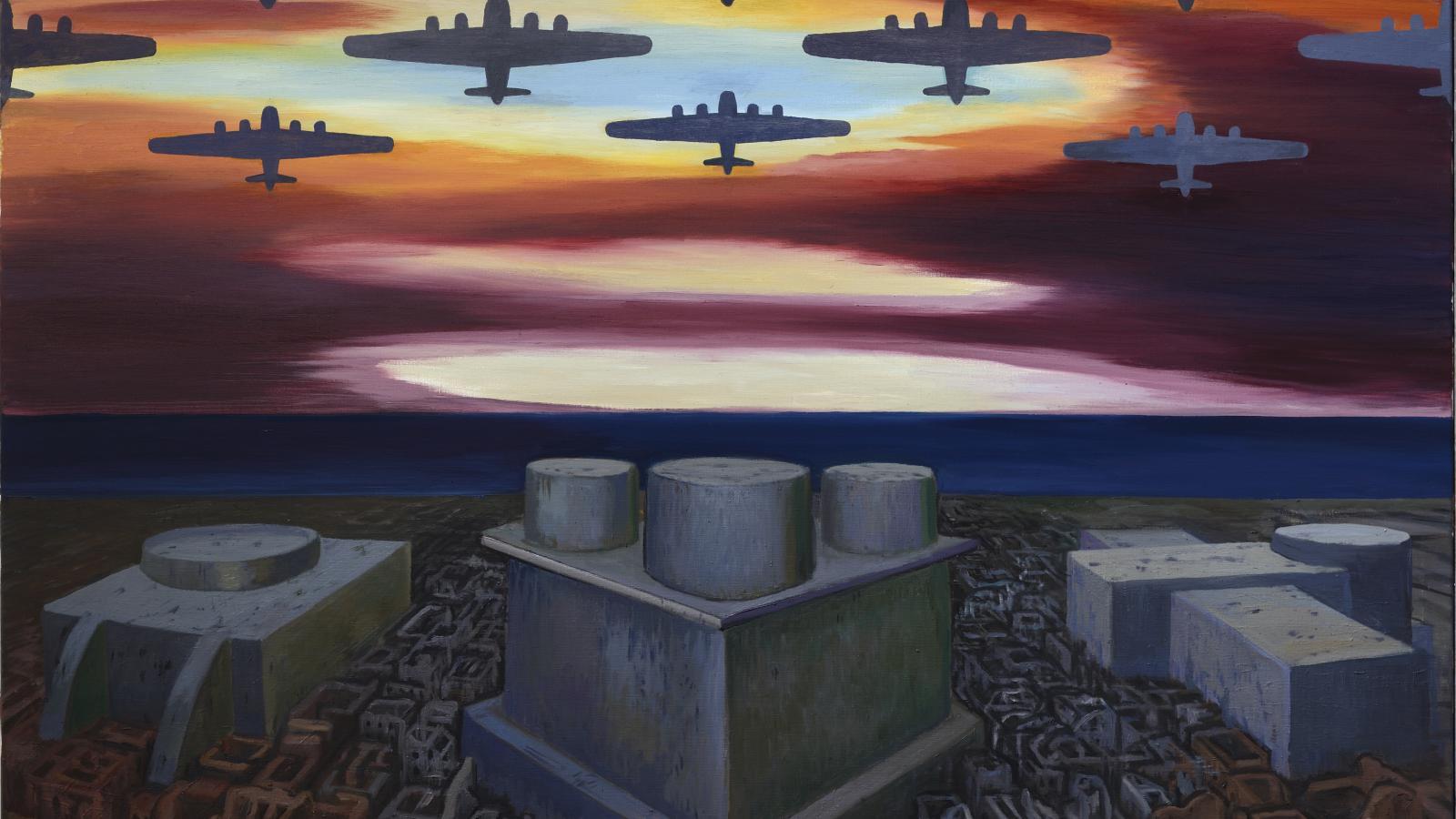 Jaroslav Róna: Válka v jižních mořích