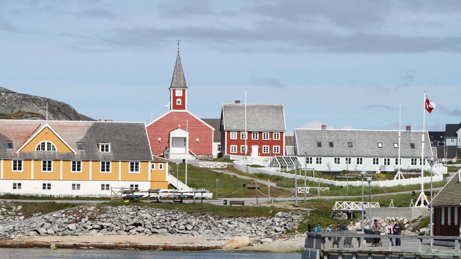 Hlavní město Grónska Nuuk