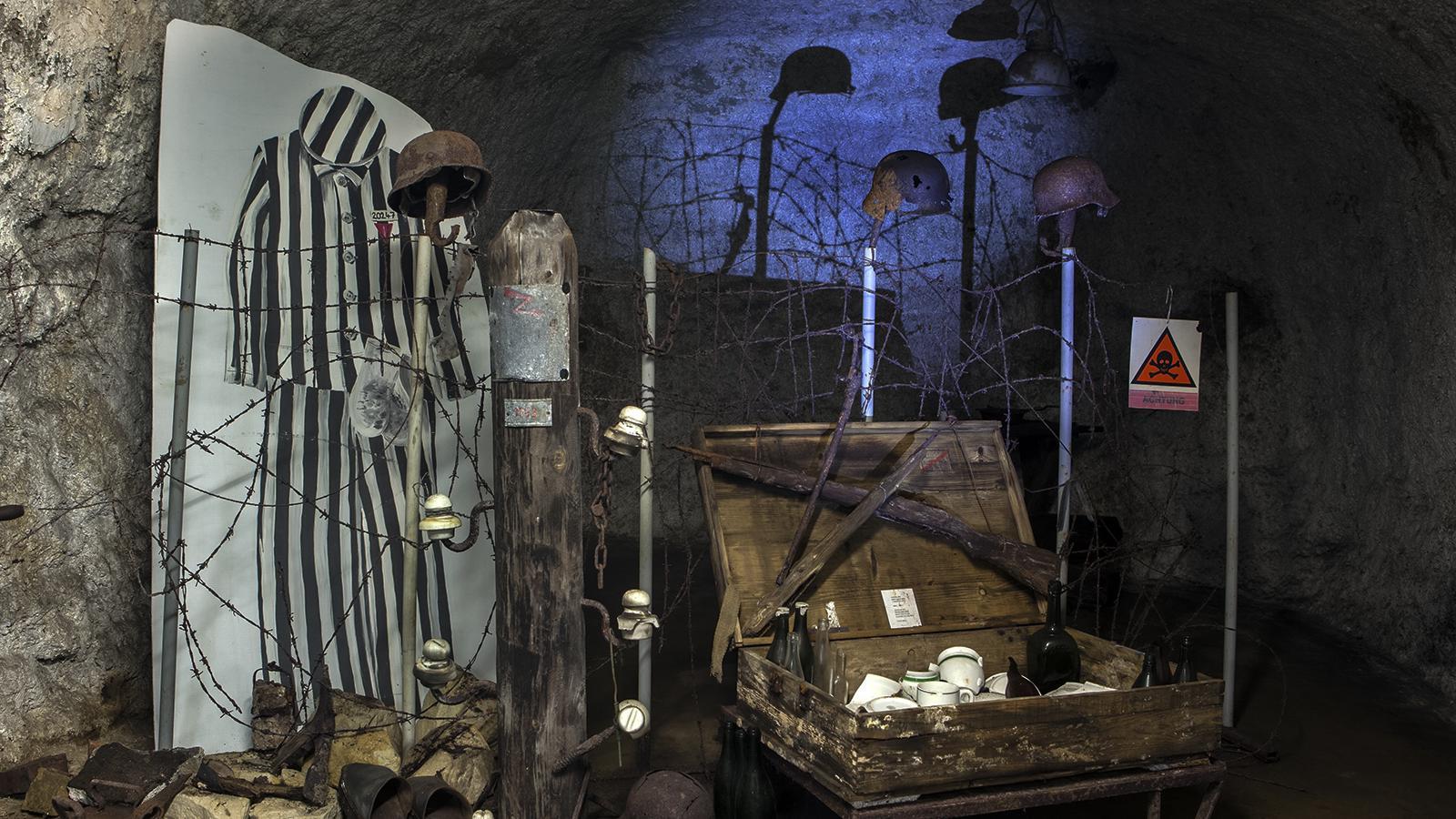 Hitlerova podzemní továrna Rabštejn