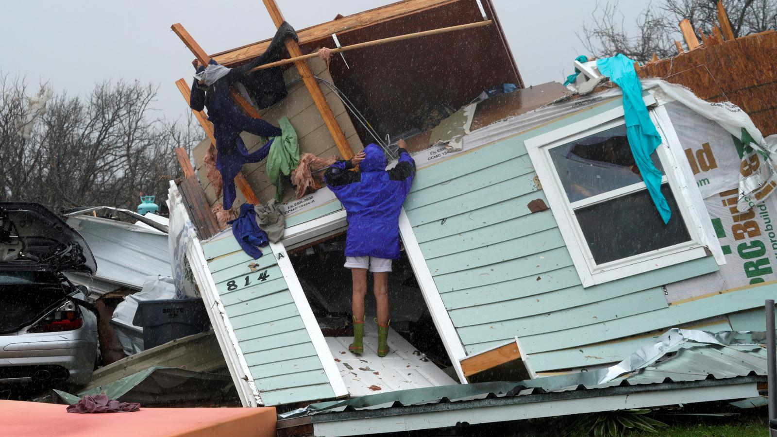 Škody tropické bouři Harvey
