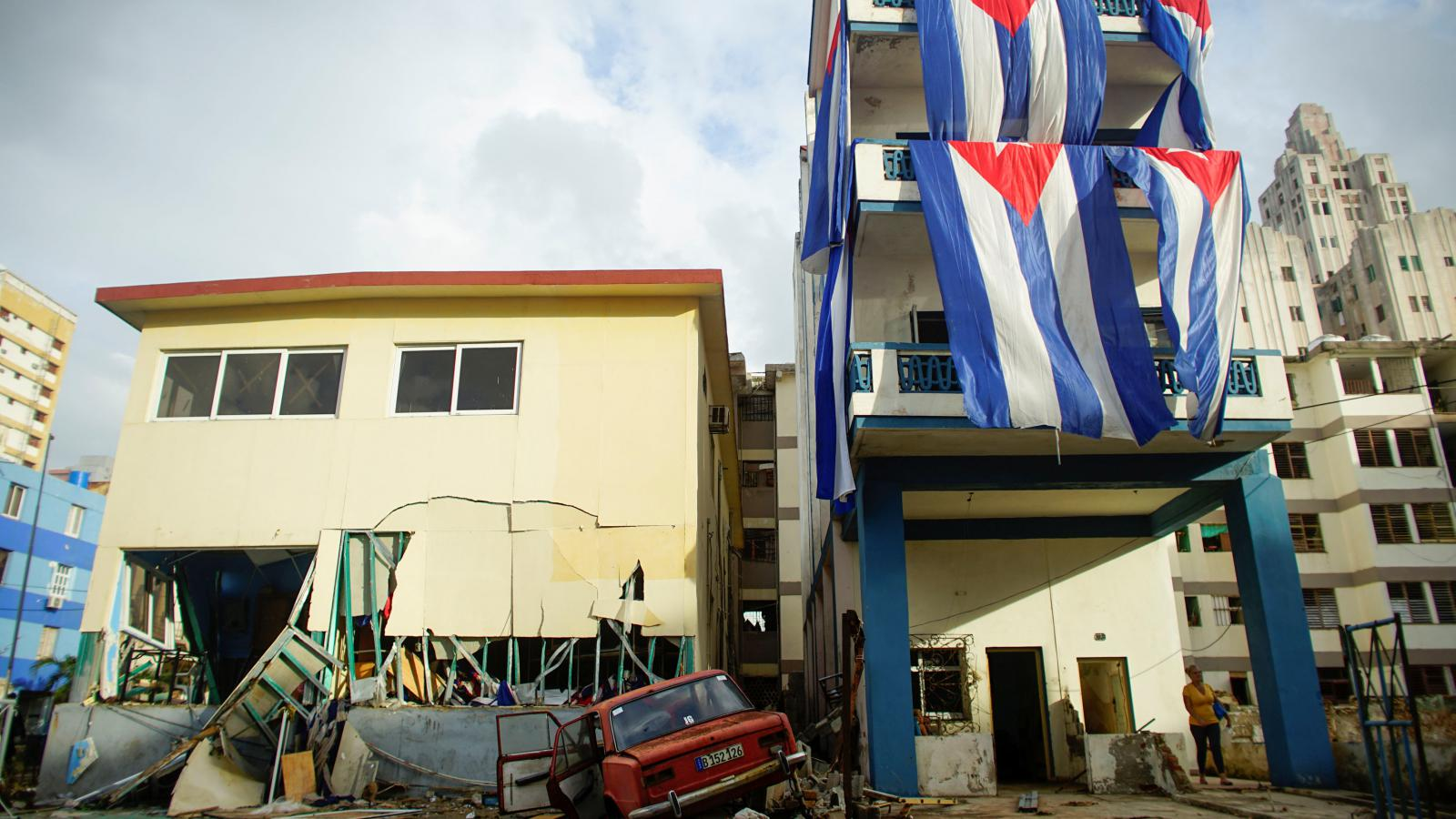 Následky řádění hurikánu Irma na Kubě