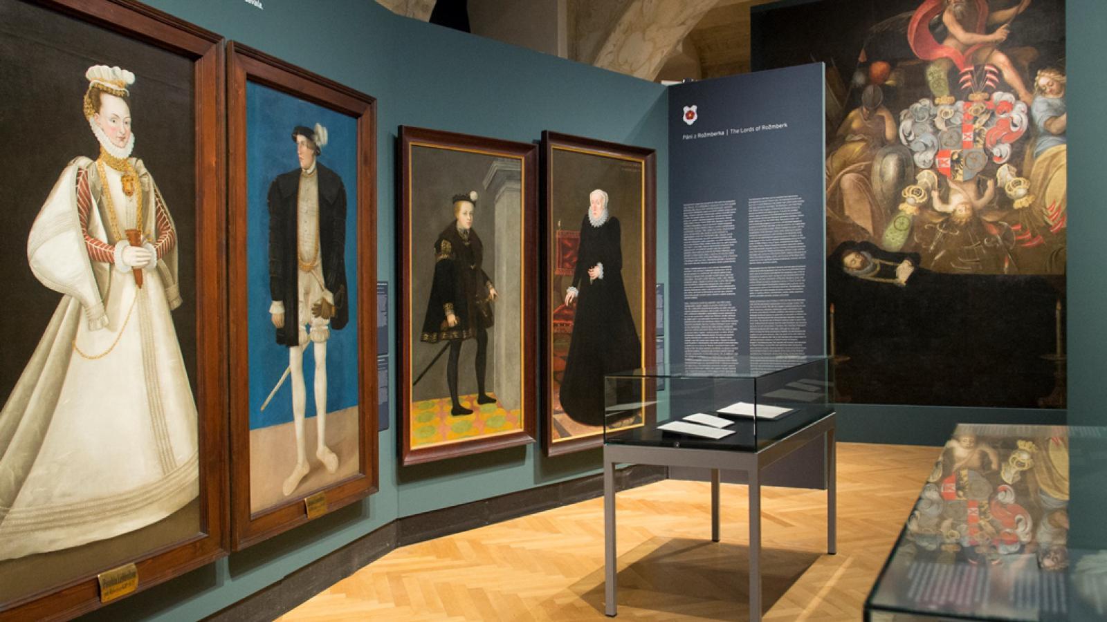 Výstava s dopisy Perchty z Rožmberka