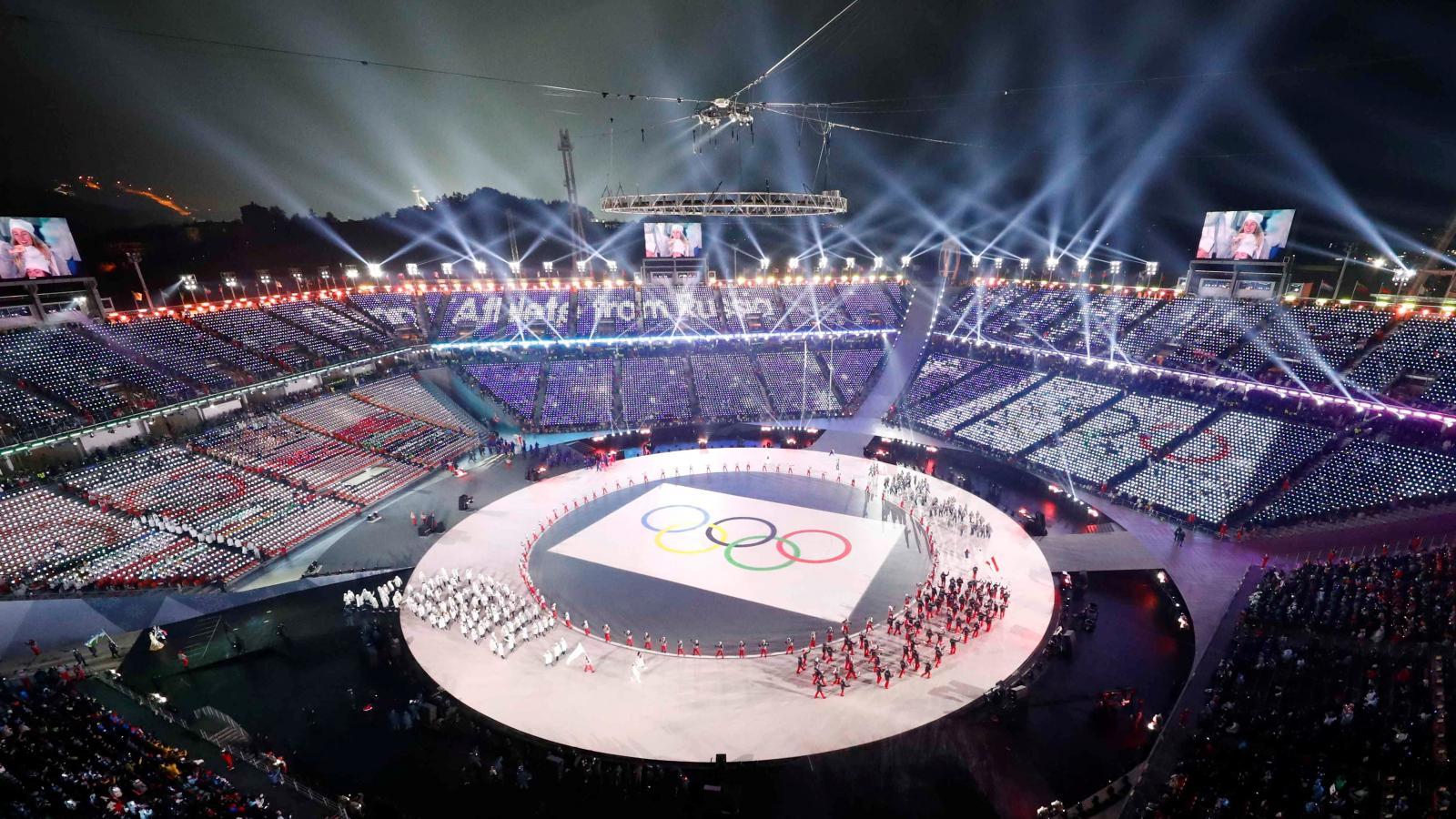Zahájení olympijských her v Jižní Koreji
